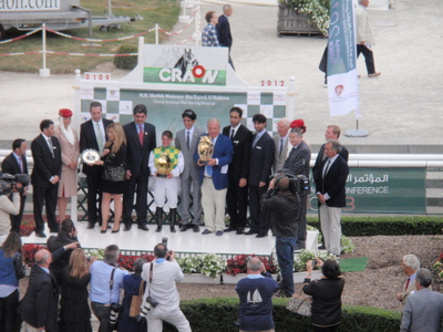 Photo podium Craon
